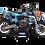 Thumbnail: KTM EXC XCW SX-XC 2017-2019 BLUE GOPRO CUSTOM GRAPHIC DECAL STICKER KIT