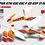 Thumbnail: KTM EXC XCW SX-XC 2017-2019 SPAIN ORANGE 6DAYS GRAPHIC DECAL STICKER KIT