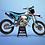 Thumbnail: KTM EXC XCW SX-XC 2014-2016  BLUE GOPRO GRAPHIC DECAL STICKER KIT
