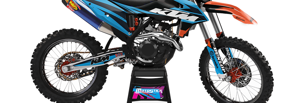 KTM EXC XCW SX-XC 2020-2022 GRAPHIC DECAL STICKER KIT Kopyası