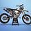 Thumbnail: KTM EXC XCW SX-XC 2014-2016  GREY 6DAYS GRAPHIC DECAL STICKER KIT