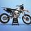 Thumbnail: KTM EXC XCW SX-XC 2014-2016  WHİTE BLACK GRAPHIC DECAL STICKER KIT