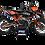 Thumbnail: KTM EXC XCW SX-XC 2020-2022 GRAPHIC DECAL STICKER KIT ORANGE