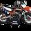 Thumbnail: KTM EXC XCW SX-XC 2020-2022 GRAPHIC DECAL STICKER KIT BLACK ORANGE