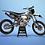 Thumbnail: KTM EXC XCW SX-XC 2014-2016  BLACK GREY GRAPHIC DECAL STICKER KIT