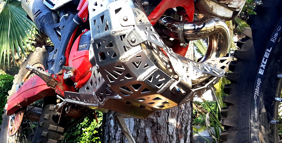 BETA 250/300 RR SKID PLATE WITH PIPE GUARD-2014/2019