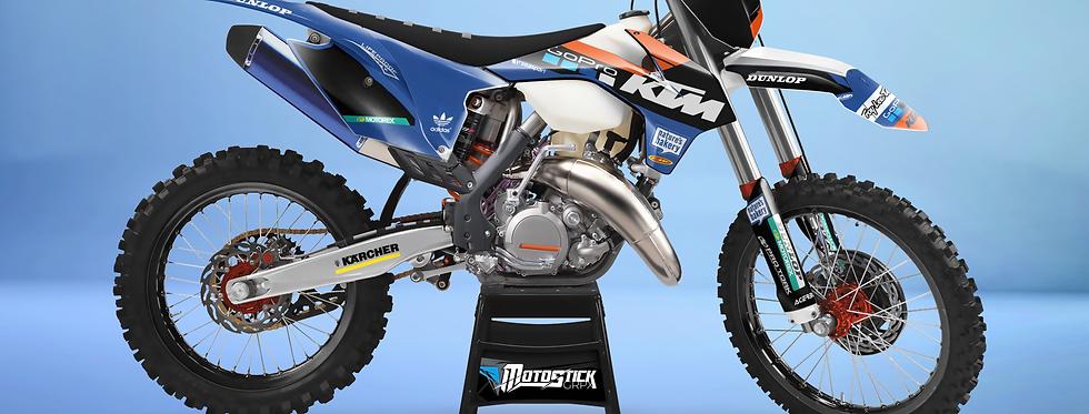 KTM EXC XCW SX-XC 2014-2016  GOPRO CUSTOM GRAPHIC DECAL STICKER KIT