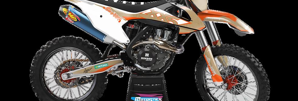 KTM EXC XCW SX-XC 2017-2019 XX5 CUSTOM GRAPHIC DECAL STICKER KIT