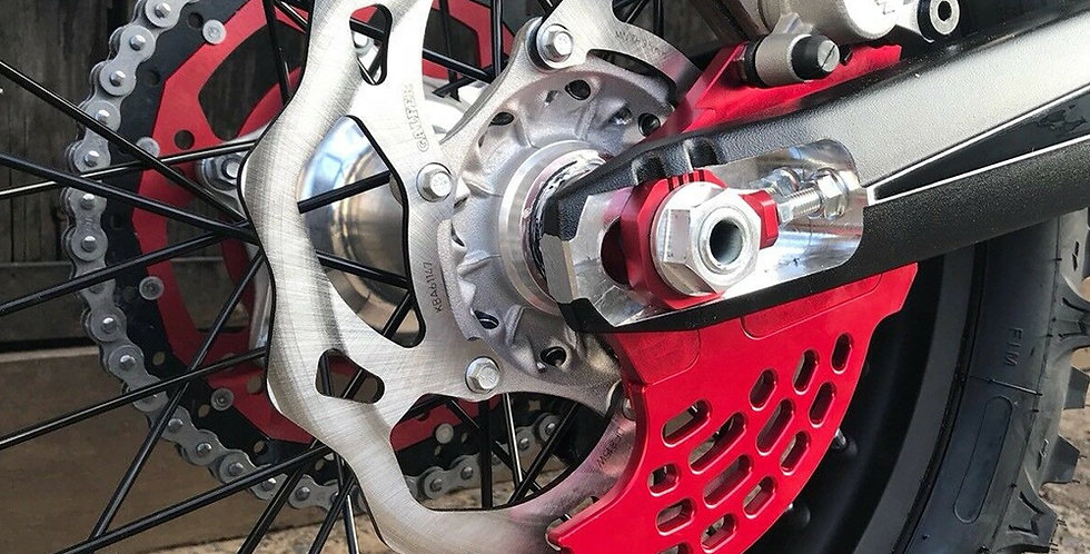 Beta Rear Brake Disc Guard 2013-2019  2T- 4T Models Red