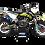 Thumbnail: KTM EXC XCW SX-XC 2017-2019 BLACK YELLOW CUSTOM GRAPHIC DECAL STICKER KIT