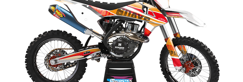 KTM EXC XCW SX-XC 2017-2019 GRAPHIC DECAL STICKER KIT SIXDAYS 2017