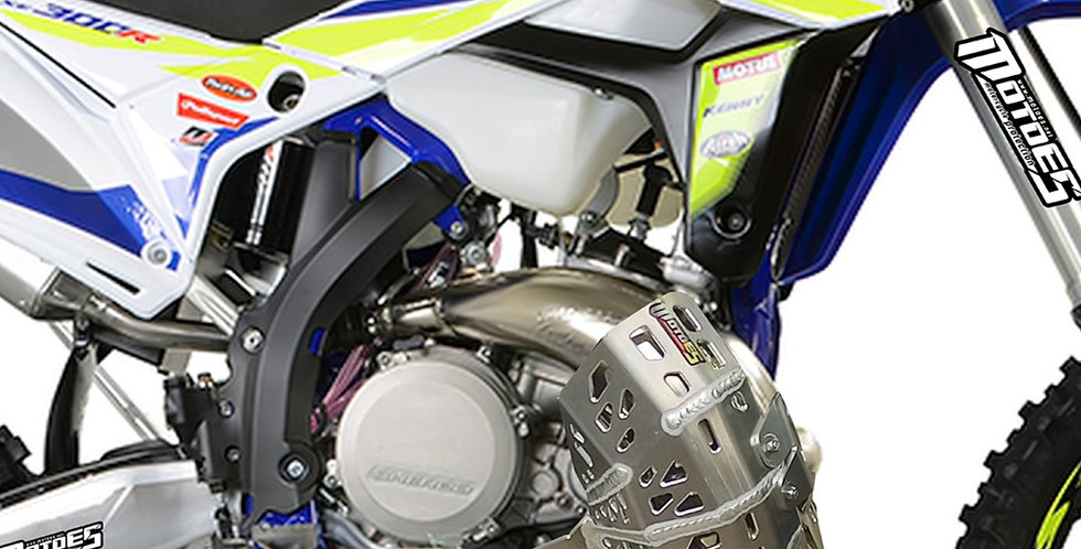 SHERCO BASH PLATE WITH PIPE GUARD SE-R 250/300 2018-2021