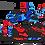Thumbnail: KTM EXC XCW SX-XC 2017-2019 BLUE RED CUSTOM GRAPHIC DECAL STICKER KIT