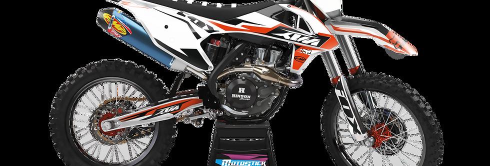 KTM EXC XCW SX-XC 2017-2019 FOX GRAPHIC DECAL STICKER KIT