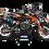 Thumbnail: KTM EXC XCW SX-XC 2017-2019 ORANGE CUSTOM GRAPHIC DECAL STICKER KIT