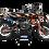 Thumbnail: KTM EXC XCW SX-XC 2017-2019 ORANGE KTM CUSTOM GRAPHIC DECAL STICKER KIT