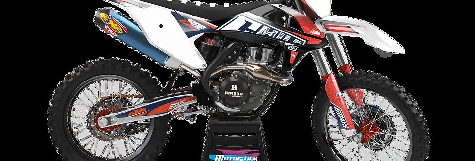 KTM EXC XCW SX-XC 2017-2019 CHILE CUSTOM GRAPHIC DECAL STICKER KIT