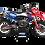 Thumbnail: KTM EXC XCW SX-XC 2017-2019 BLUE RED 6DAYS CUSTOM GRAPHIC DECAL STICKER KIT