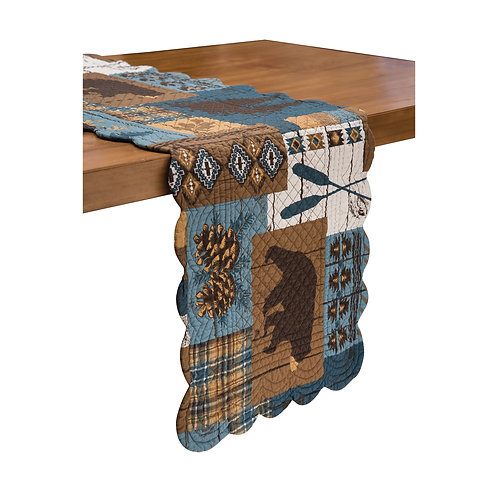 Timber Trails Sky Table Runner