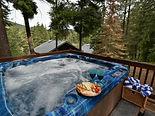 hot tub Pines rental