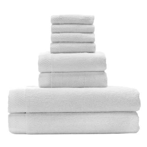 Bed Voyage Rayon Viscose Bamboo Luxury 8 piece towel set