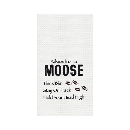 Advice From A Moose Kitchen Towel