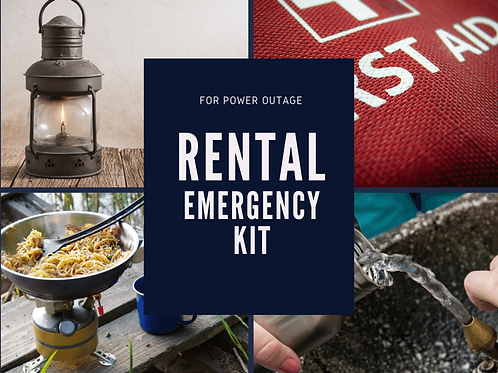 Small Power Outage Emergency Kit