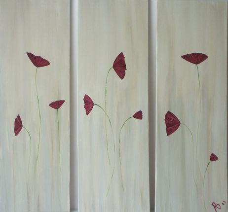 """Claudia's Poppies"" , by alan baddiley"