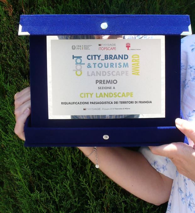 "Premio ""City_Brand&Tourism Landscape Award"""