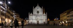S. Croce Lighting façade_built