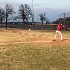 14 year old client Jackson first home run ever
