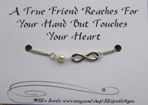 Reach for the Hand Touch The Heart Bracelet