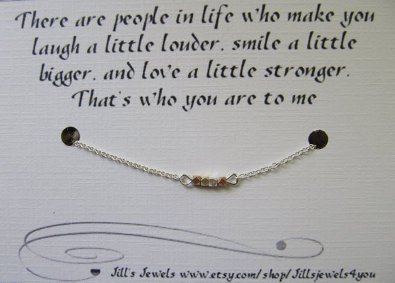 Friendship Nugget Necklace
