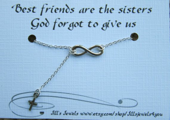 Friends Forever - Infinity and Cross Necklace
