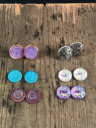 Sparkle Stud Earrings