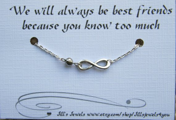 You Know Too Much Friendship Bracelet