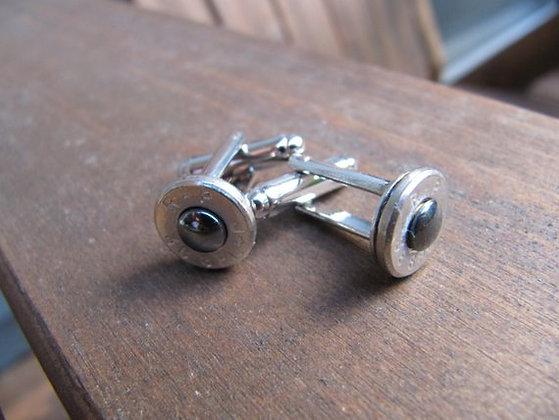 Bullet Cuff Links- 38 Special Hematite