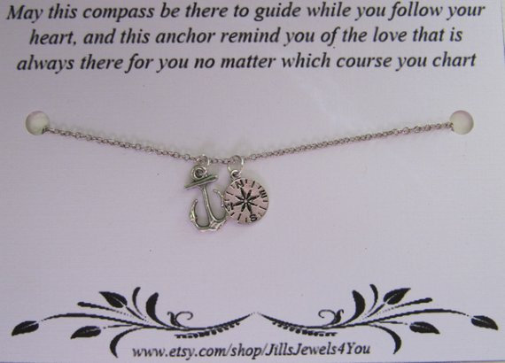 To Guide You and Anchor You Necklace