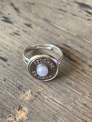 Pearl 45 Auto Bullet Ring