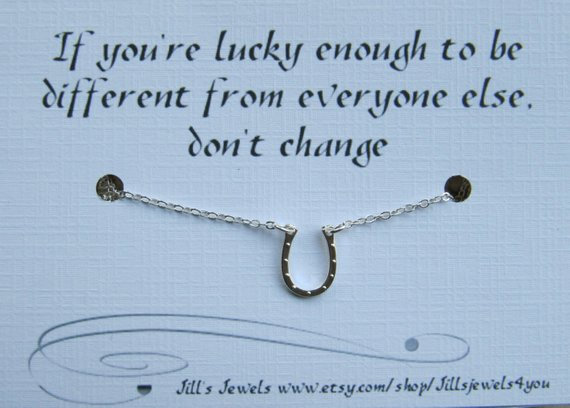Lucky To Be Different Necklace