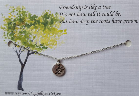 Deep Roots Friendship Necklace