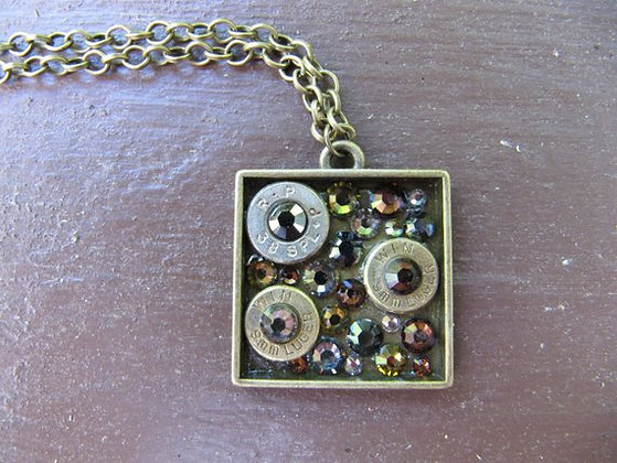 Square Bullet Necklace