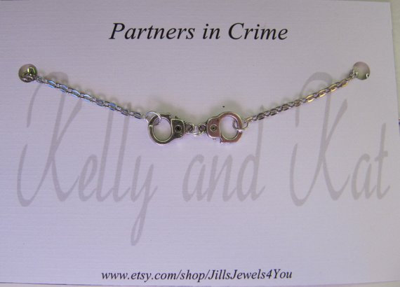 Partners in Crime- Personalized Name Cards