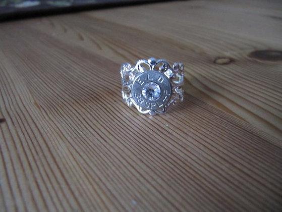 Bullet Ring- 38 Special Crystal Swarovski