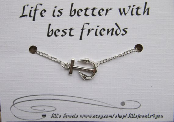 Life Is Better With Friends Anklet