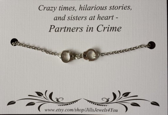 Crazy Times Hilarious Stories Handcuff Necklace