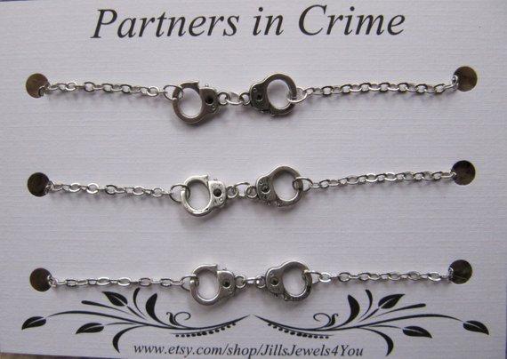 Partners In Crime Bracelet Set of 3