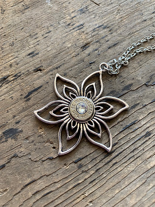 Large Flower 38 Special Necklace