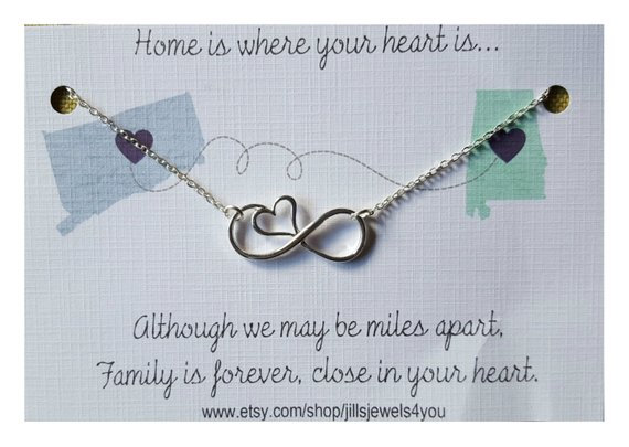 Home Is Where Your Heart Is Necklace