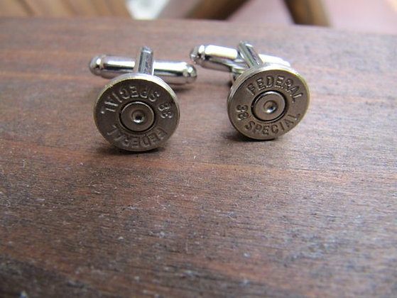 Bullet Cuff Link- 38 Special